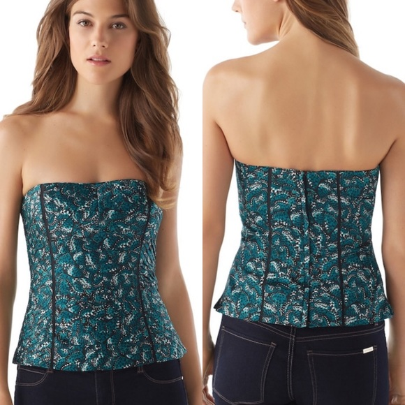 White House Black Market Tops - WHBM Butterfly Bustier Corset Top Size 2